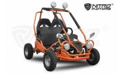 buggy 50cc 4t R6 4 focos biplaza