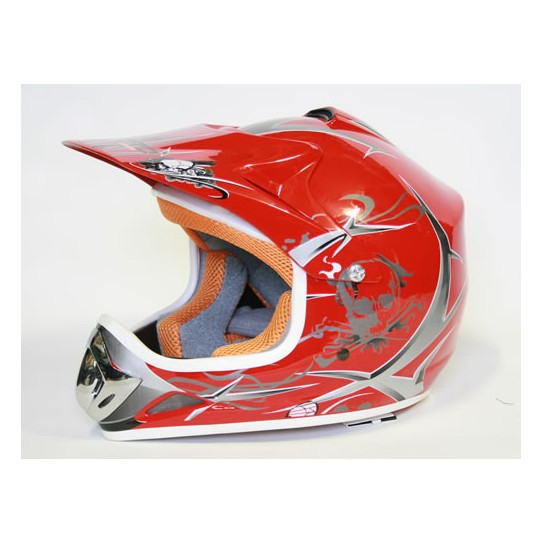 Casco Cross Xtreme Rojo