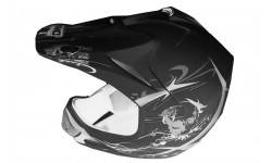 Casco Cross Xtreme Negro Mate