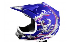 Casco Cross Xtreme Azul mate