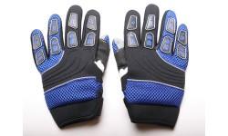 Guantes Racing infantil azul