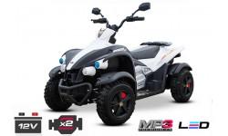 ATV OFFROAD 2x45w 12v amortiguación ruedas Eva