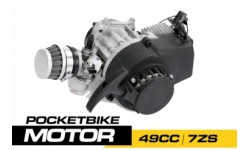 MOTOR DE 2T POCKET BIKE 7ZS