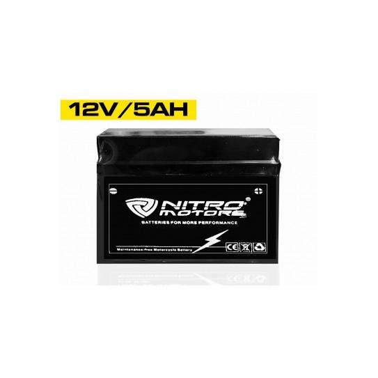 Batería de gel de plomo de Nitrode arranque sin mantenimiento YTZ5S-BS 12V 4Ah