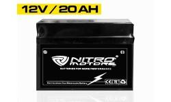 Batería de gel Nitro batería de arranque sin mantenimiento 12N9-BS 12V 9Ah