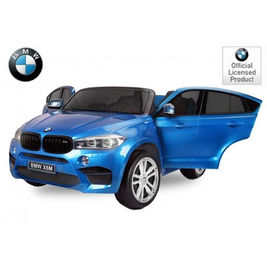 SUV BMW X6M  2X 45W pint metalica 2 plazas 45w pantalla
