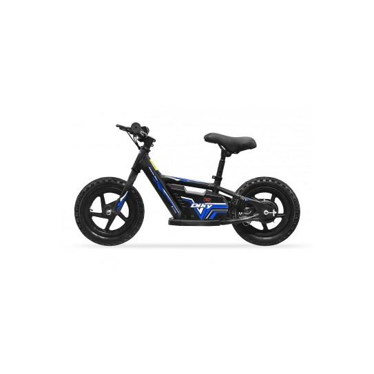 Bicicleta de equilibrio eléctrica DIRTY 180w 24v  R 12 litio