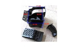 caja completa filtro de aire motor 250cc agb30